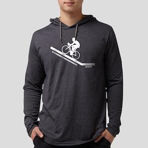Cyclist Climbing Long Sleeve T-Shirt