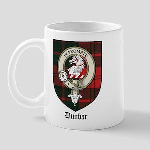 Dunbar Clan Crest Tartna Mug