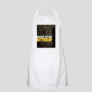 Suck it Up Buttercup Poster Apron