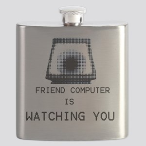Paranoia RPG Friend Computer is Watching You Flask