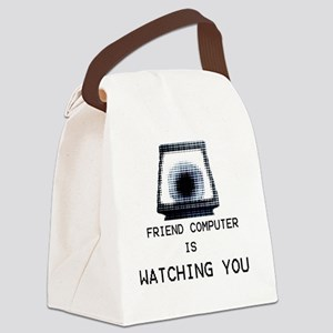 Paranoia RPG Friend Computer is W Canvas Lunch Bag