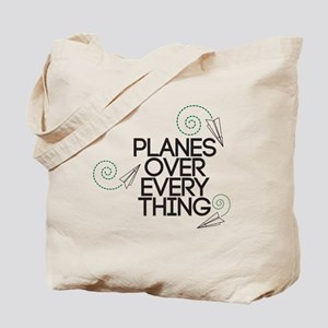 PLANES OVER EVERYTHING Tote Bag