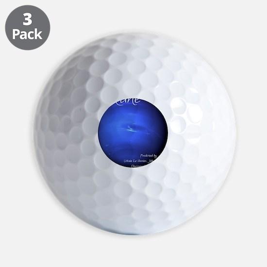 Neptune-1-whiteLetters Golf Ball