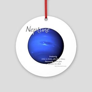 Neptune Round Ornament