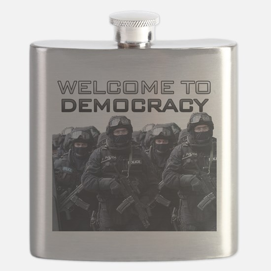 Welcome To Democracy Flask