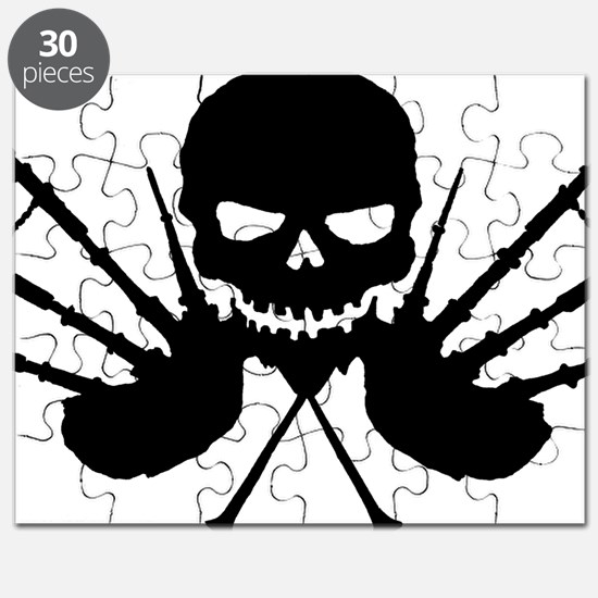 Skull and Pipes Puzzle