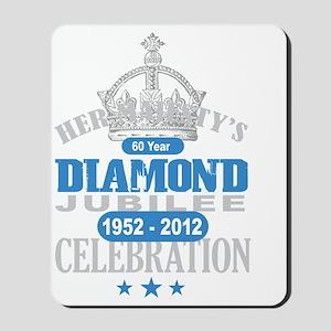 Queen Elizabeth Diamond Jubilee Mousepad