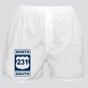 Route 231 Blue Boxer Shorts