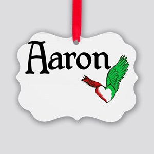 Aaron Picture Ornament