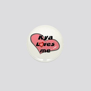 kya loves me Mini Button