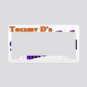 Sports Bar and Grill License Plate Holder