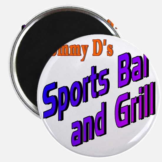 Sports Bar and Grill Magnet