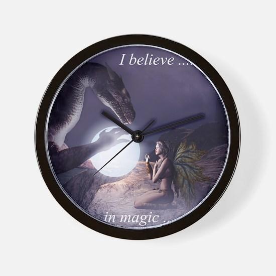 I believe in Magic (v1a) Wall Clock