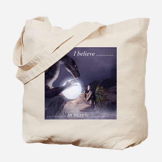 I believe in Magic (v1a) Tote Bag