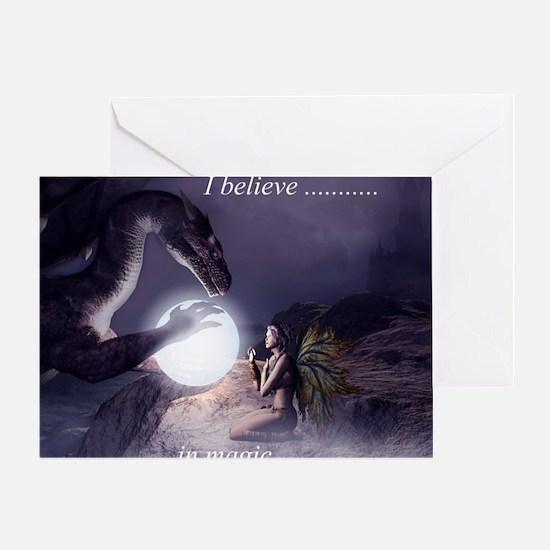 I believe in Magic (v1a) Greeting Card