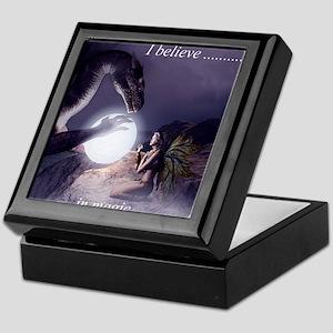 I believe in Magic (v1a) Keepsake Box