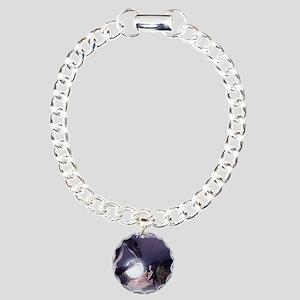 I believe in Magic (v1a) Charm Bracelet, One Charm