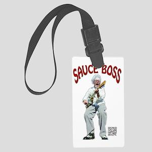 Sauce Boss Tshirt Large Luggage Tag