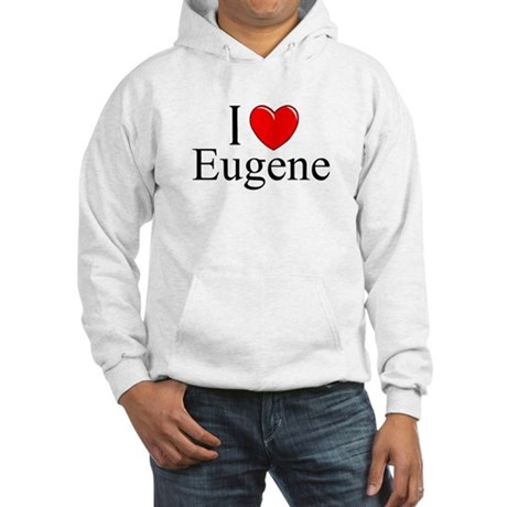 """I Love Eugene"" Hooded Sweatshirt"