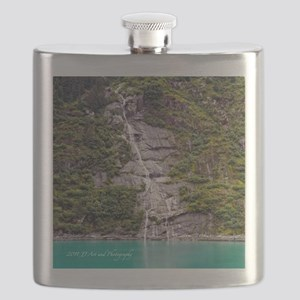 Tracy Arm Waterfall Flask