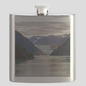 Tracy Arm Glacier Flask