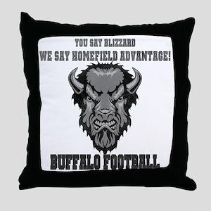 Homefield Advantage Throw Pillow