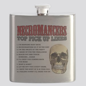 Necromancer Pick Up Lines Flask