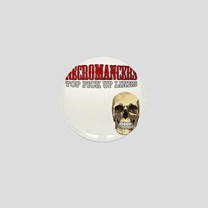 Necromancer Pick Up Lines Mini Button