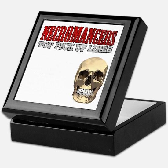 Necromancer Pick Up Lines Keepsake Box