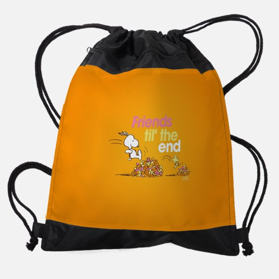 Friends Til the End Drawstring Bag