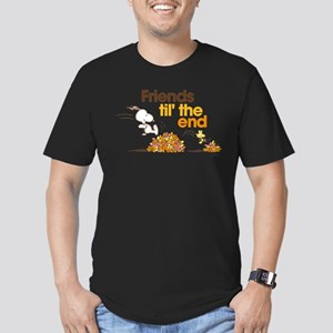 Friends Til the End Men's Fitted T-Shirt (dark)