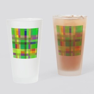 Retro, 1980s, Hipster Drinking Glass