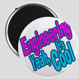 Engineering is Cool (Purple) Magnet