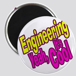 Engineering is Cool (Yellow) Magnet