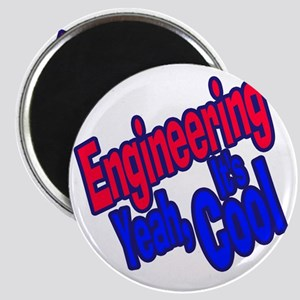 Engineering is Cool (Red) Magnet