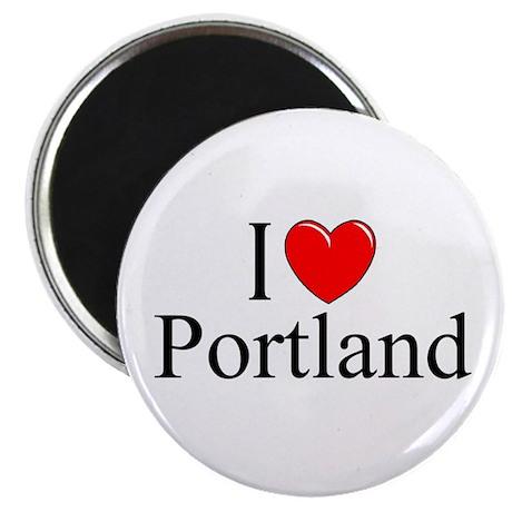 """I Love Portland"" Magnet"