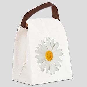 Daisy Canvas Lunch Bag