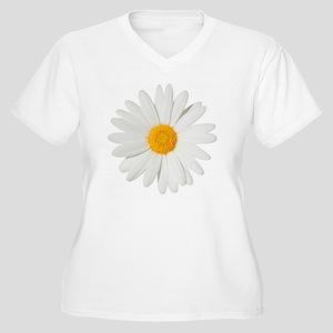 Daisy Women's Plus Size V-Neck T-Shirt