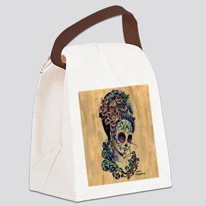 Marie Muertos Cushion cover Canvas Lunch Bag