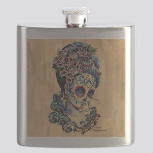 Marie Muertos Cushion cover Flask