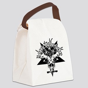 Satanic-Motherfucker-2-white-girl Canvas Lunch Bag