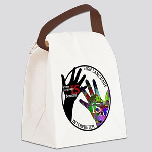 Communication is ART Canvas Lunch Bag