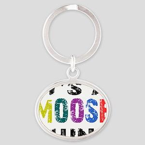 moosething Oval Keychain