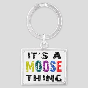 moosething Landscape Keychain