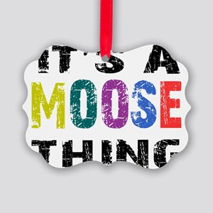 moosething Picture Ornament