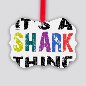 sharkthing Picture Ornament