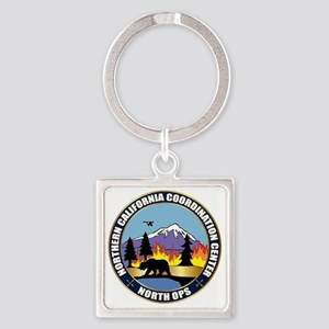 North Ops Logo Square Keychain