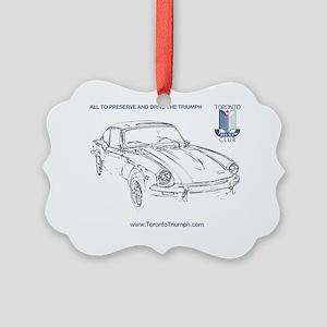 GT6 Shirt Transparent Picture Ornament
