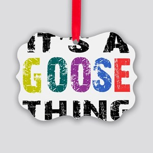 goosething Picture Ornament