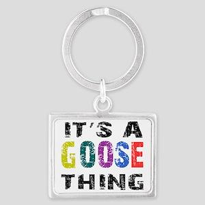 goosething Landscape Keychain